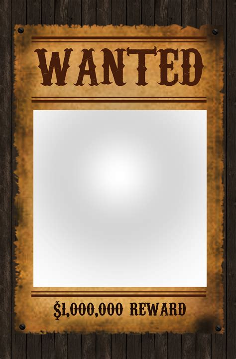 Excellent Most Wanted Posters Templates Contemporary Wanted Poster Powerpoint