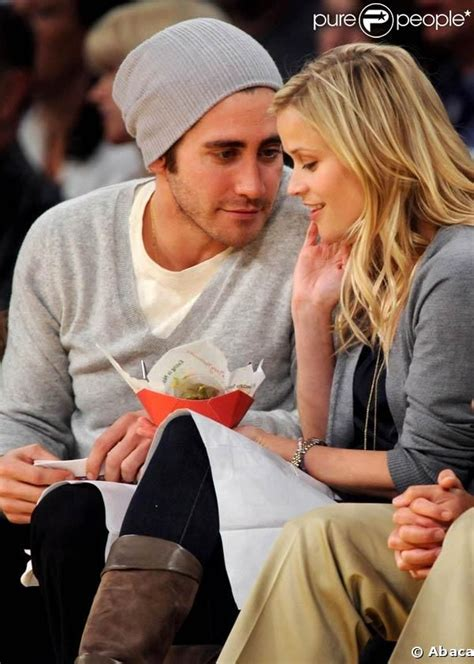 Jake Gyllenhaal Romancing Reese Witherspoon by Jake Gyllenhaal Reese Witherspoon Otp S