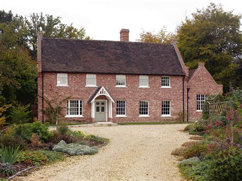 English Style Design For Country Houses Brick Georgian House Plans