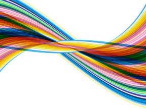 color waves pencil color wave backgrounds for presentation ppt
