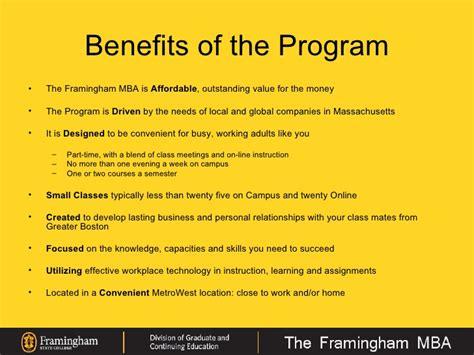 Framingham State Mba by Framingham State College