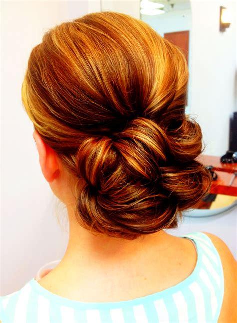 simple wedding updo hair