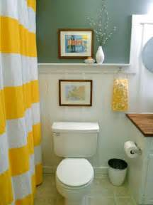 Diy Decorating Ideas For Small Bathrooms Yellow Bathroom Decor Ideas Pictures Tips From Hgtv Hgtv
