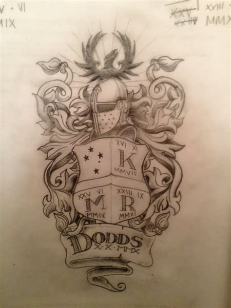 family tattoo black and grey 20 family crest tattoo tattoo designs and images