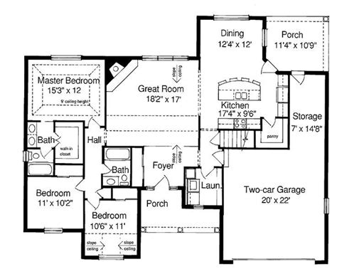 ranch floor plans with basement plans for ranch style houses beautiful ranch style house