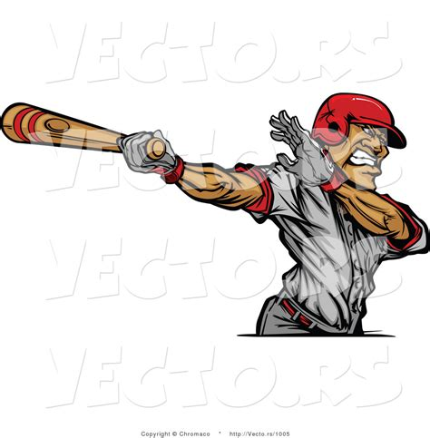 baseball player swinging bat clip art bat hitting ball clipart 30