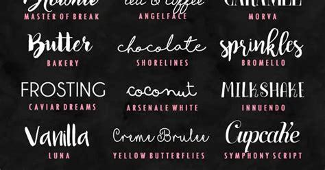 Model Font Free Bordir Nama Tulisan 24 kumpulan font tipografi keren free kumpulan