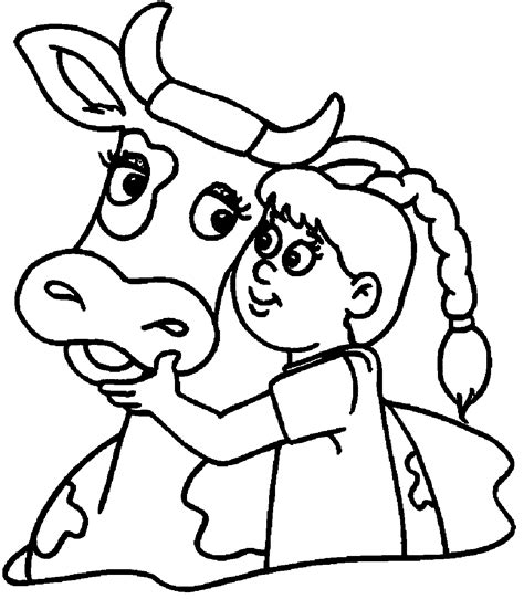 top 85 cow coloring pages free coloring page