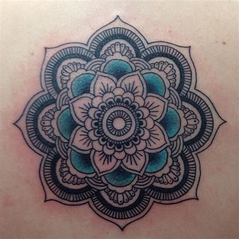 38 colored mandala tattoos collection