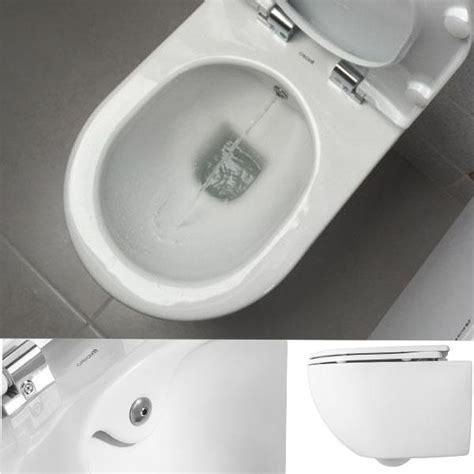 toilette mit eingebautem bidet randlos h 228 nge wand dusch wc taharet bidet taharat toilette