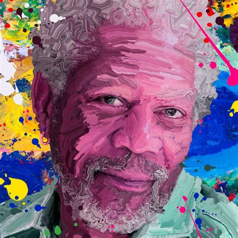 hard smudge painting tutorial hard smudge paint effect morgan freeman photoshop