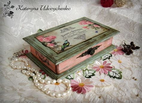 decoupage jewellery best 25 decoupage box ideas on diy decoupage