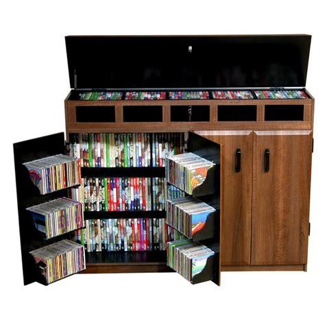 diy cd storage 9 media storage cabinet plans