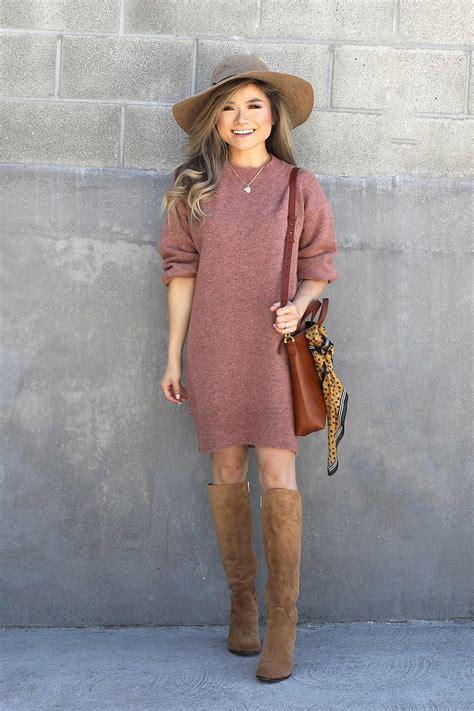 Topshop Dress Autumn by Fall 2017 Fall Lookbook Topshop Sweater Dress