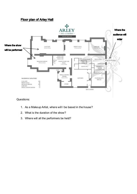 party floor plan arley hall dance event floor plan