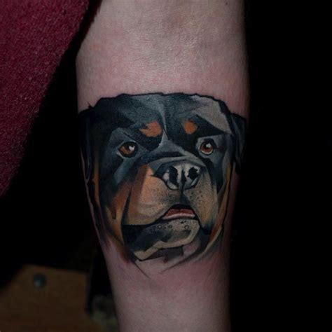 rottweiler tattoos halasz matyas s geometric animal tattoos are setting the