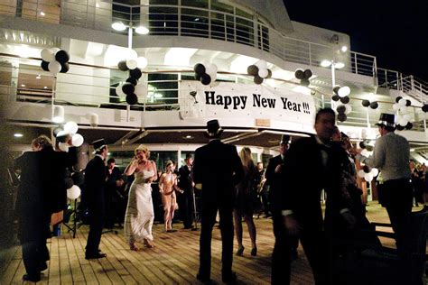 happy new year cruise ship style digital art by susan stone