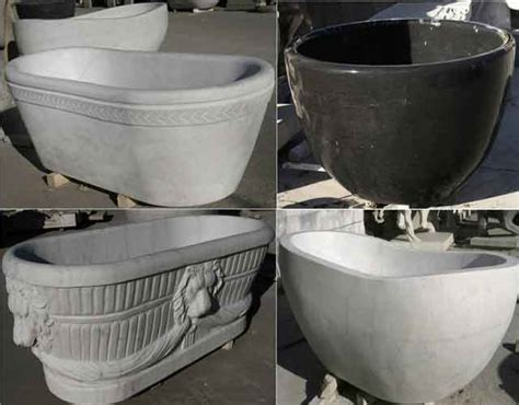 round stone bathtub 2016 black bathtub marble round bathtub factory price