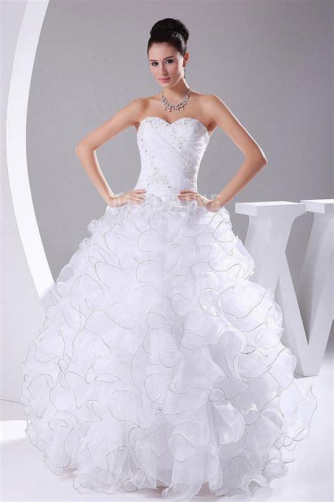Robe De Mariée Princesse Bustier Paillette - robe de mari 233 e princesse bustier jupe le volut 233 e
