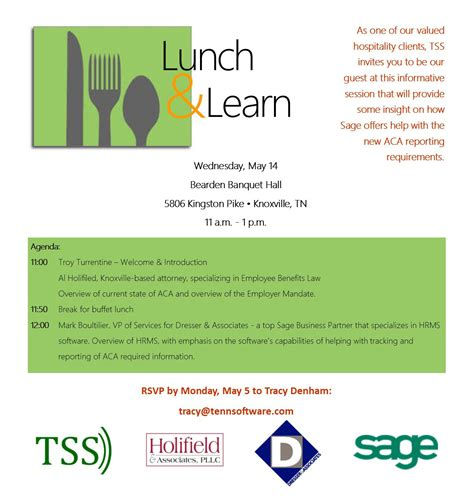Lunch And Learn Invitation Lunch And Learn Presentation Template