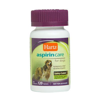 aspirin for dogs hartz 97932 advanced care enteric coated aspirin for dogs atg stores