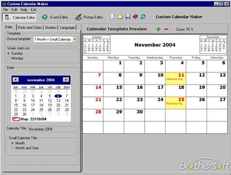 calendar design free software download free custom calendar maker custom calendar maker