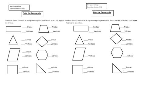 figuras geometricas vertices aristas y caras guia geometria