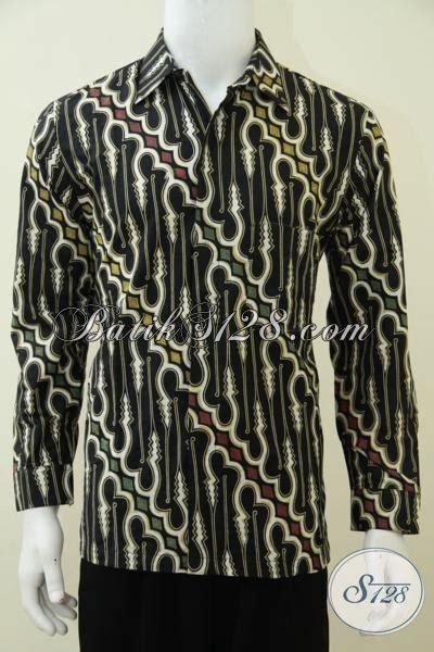 Hem Batik Lengan Panjang Ck hem batik jawa model lengan panjang motif klasik sentuhan modern baju batik kombinasi tulis