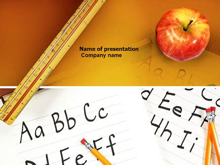 theme ppt for elementary elementary school brochure template design and layout