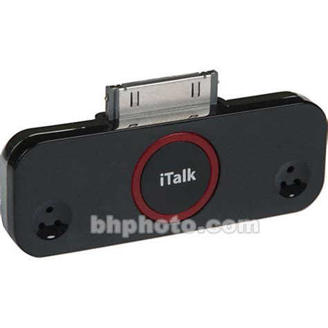 Review Griffin Italk Pro by Griffin Technology Italk Pro For Ipod 9734 Italk30 2 B H Photo