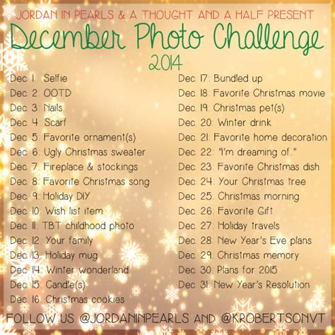 december photo a day challenge with jordan in pearls a
