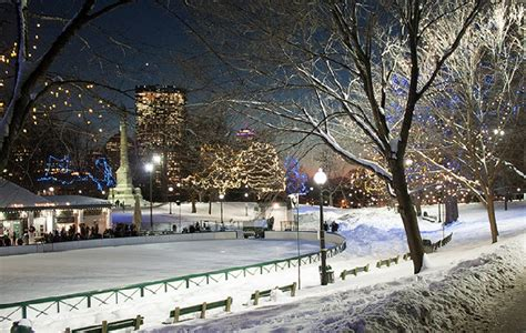 Free Ice Skating (and rental) at the Boston Common Frog ...