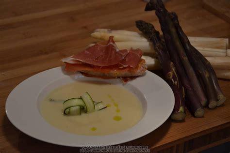 recette cuisine companion cr 232 me d asperges blanches ma 235 vab recette cuisine companion