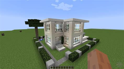 minecraft small modern house small modern house 1 8 1 8 8 for minecraft