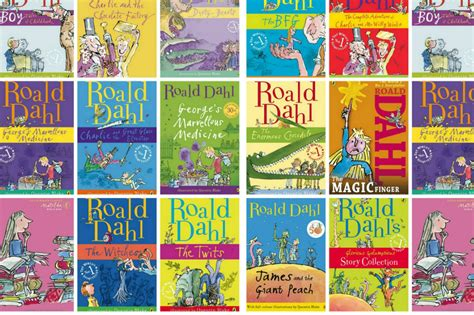pictures of roald dahl books so matilda s strong mind continued to grow