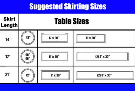 table skirts table skirt how to measure table