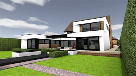 Ultra Modern Kitchen Design by Ultra Contemporary Extension In Hull Transform