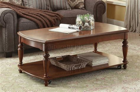 coffee tables melbourne melbourne 3548 coffee table 3pc set in cherry by homelegance