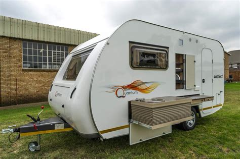 quantum leisure connect luxury caravan  sleeper