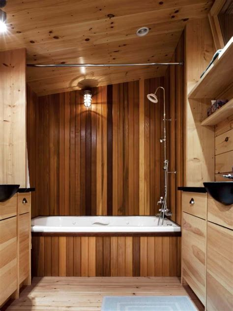 Wood Bathroom by 17 Chic And Wooden Bathroom Interiors