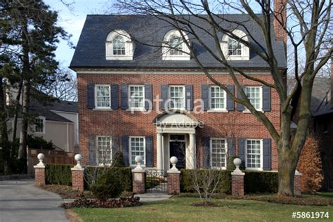 Shutters On Brick House by Quot Two Storey Brick House With Dormers Shutters And Hedge