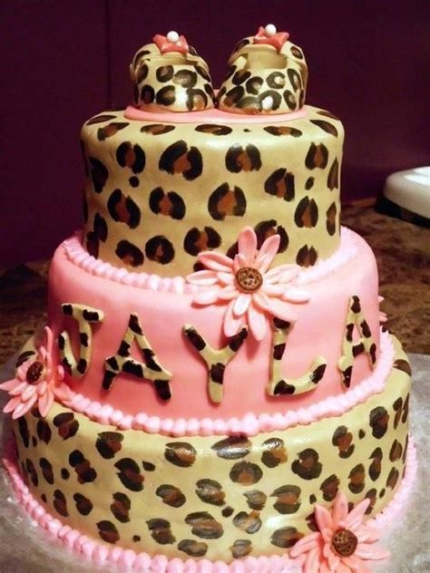 Leopard Print For The Ooh La La Baby by Leopard Print Baby Shower Baby Shower Animal Print Para