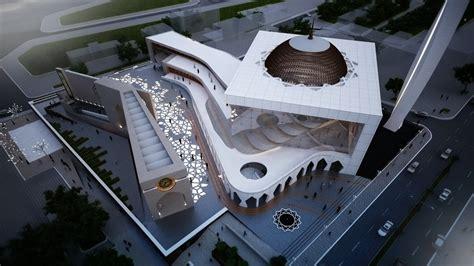 plan studio competition central mosque  prishtina