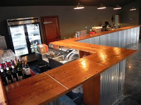 custom wood counters bar tops portland oregon