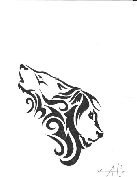 simple lion tattoo designs wolf hybrid piercings and tattoos by