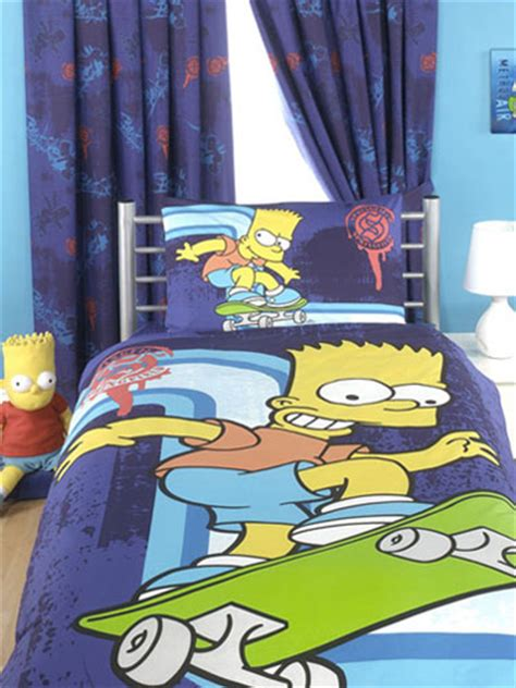 simpsons curtains bart simpson curtains and blinds