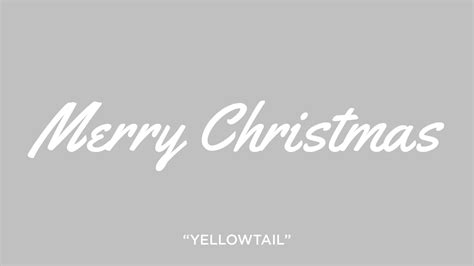 yellowtail font ten trendy fonts for your christmas designs the creative