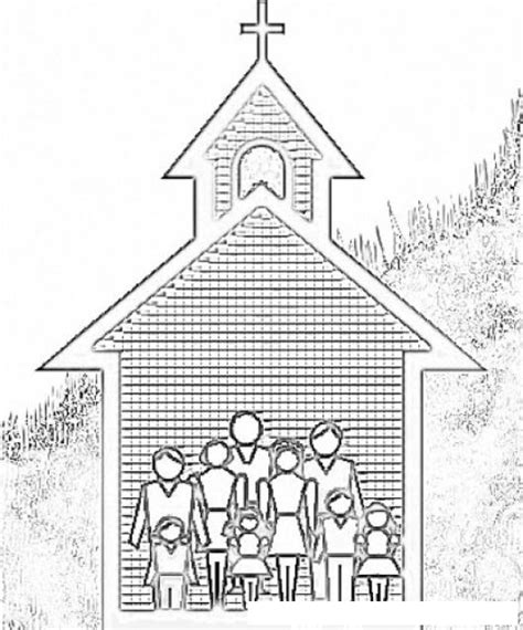 imagenes biblicas de la iglesia image gallery iglesia cristiana para colorear