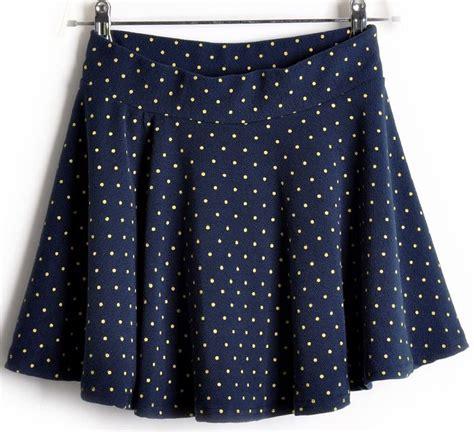 Polka Tile Skirt polka dots empire waist mini skirt