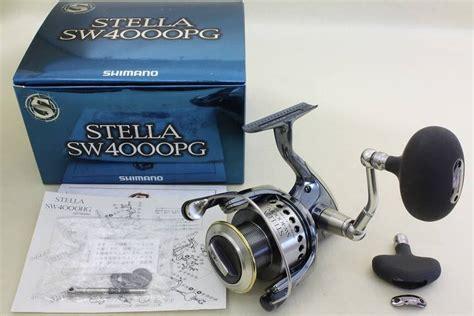 Reel Shimano Stella 4000 Pg shimano stella sw 4000 pg spinning reel manufacturer